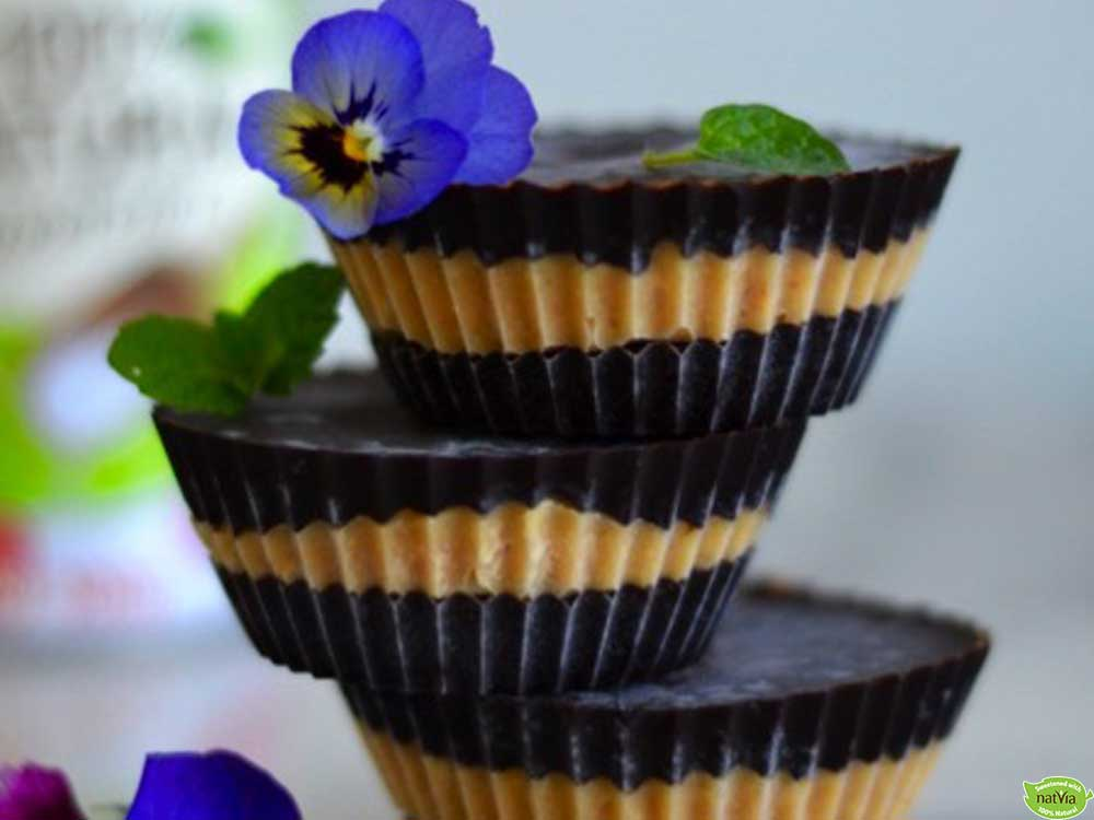 Sugar free peanut butter and chocolate cups