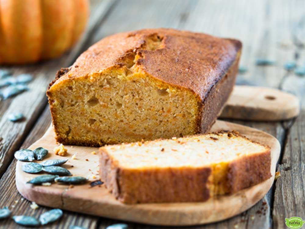 SPICED PUMPKIN LOAF CAKE