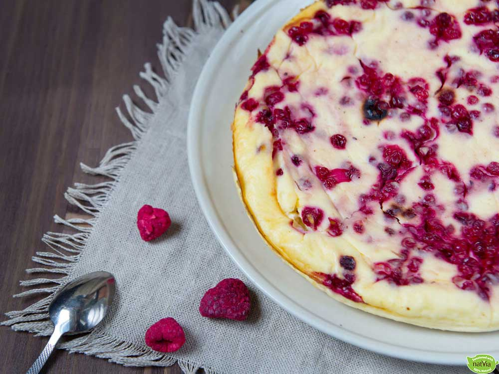 RICOTTA BERRY CHEESECAKE