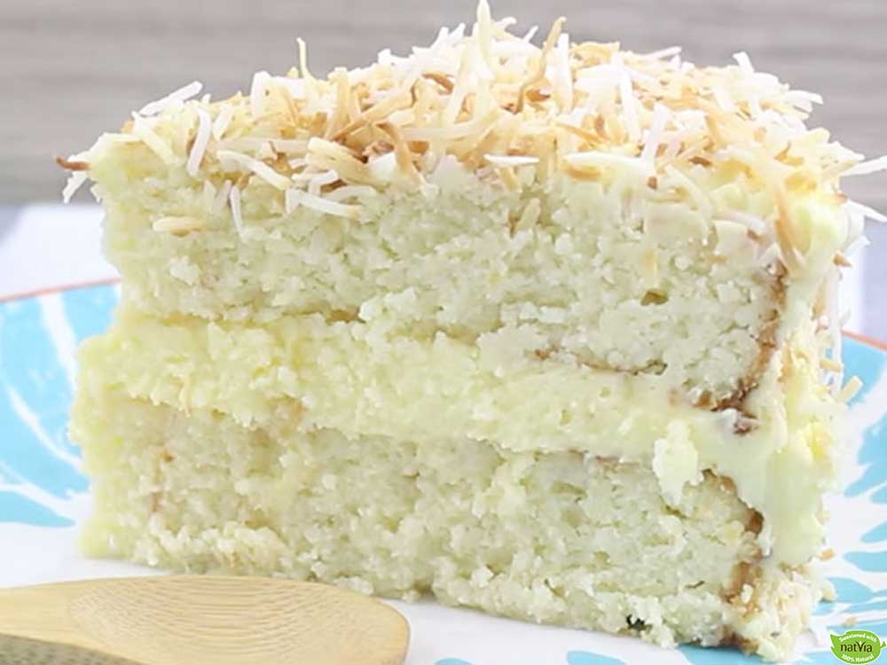 HEALTHY COCONUT CAKE