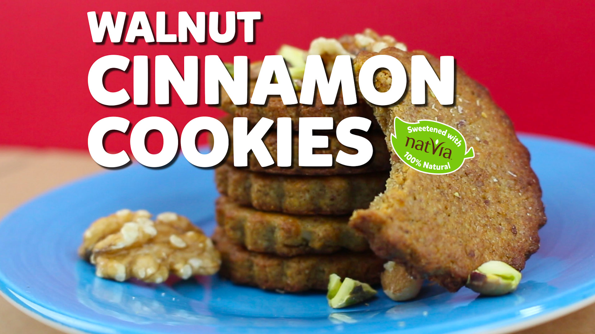walnut cinnamon cookies