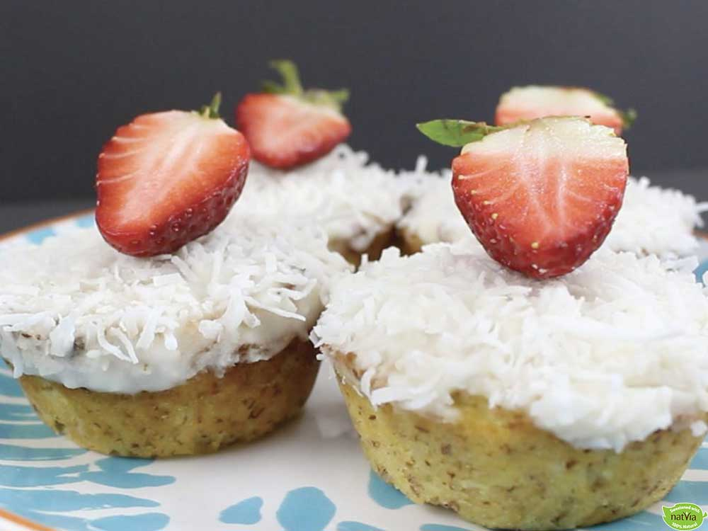 PINEAPPLE ORANGE & COCONUT MUFFINS