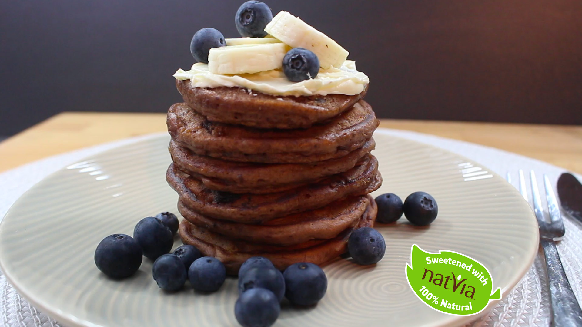 chocolate pikelets