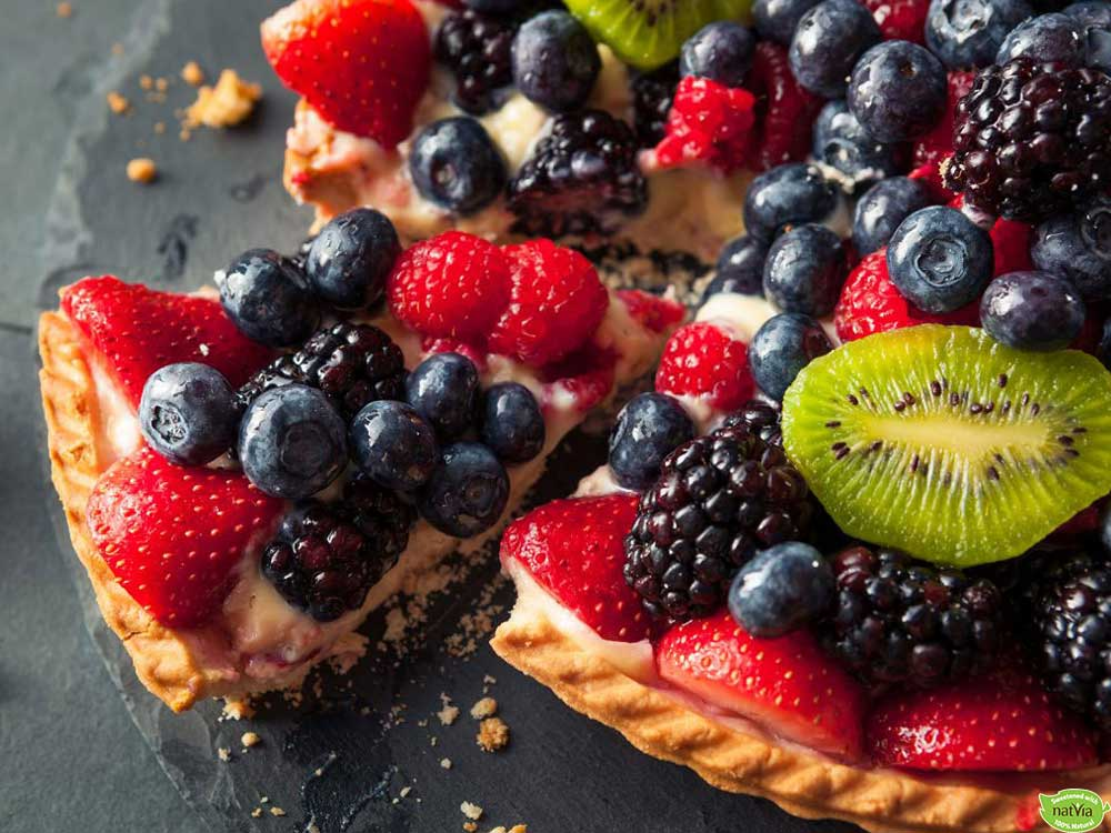 SIMPLE MASCARPONE BERRY TART