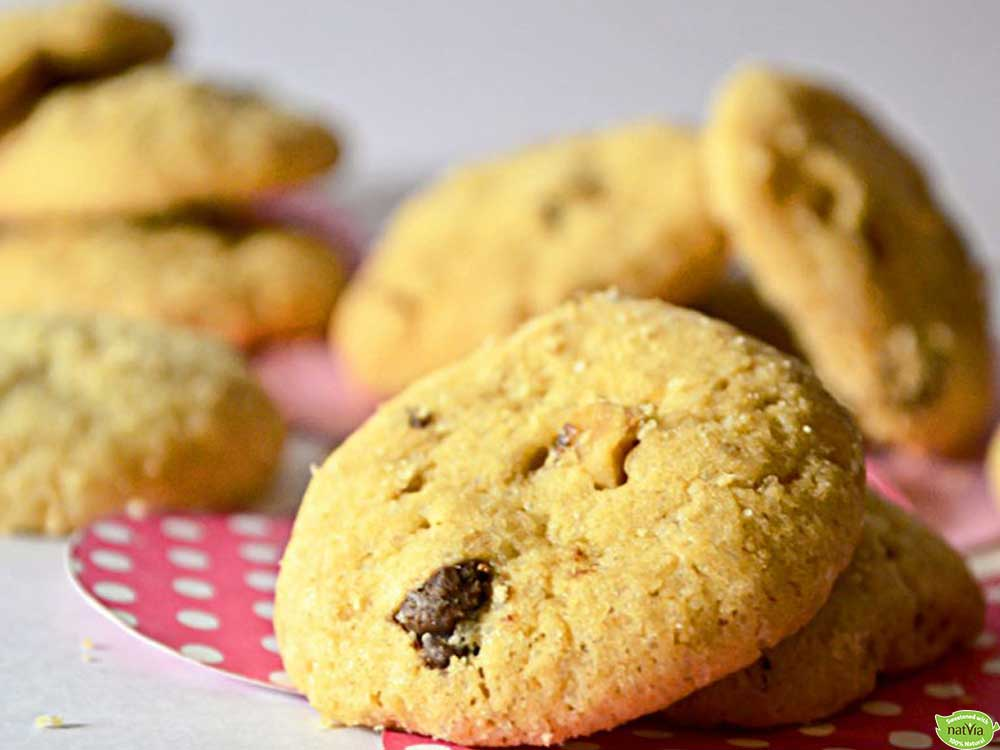 SUNFLOWER SEED BUTTER CHOC CHIP COOKIES