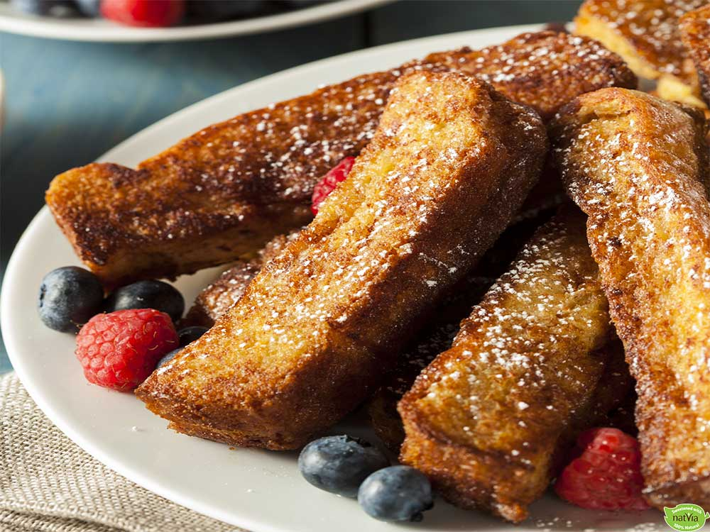 VEGAN FRENCH TOAST STICKS