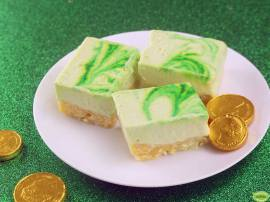 St. Patty's Cheesecake Slice