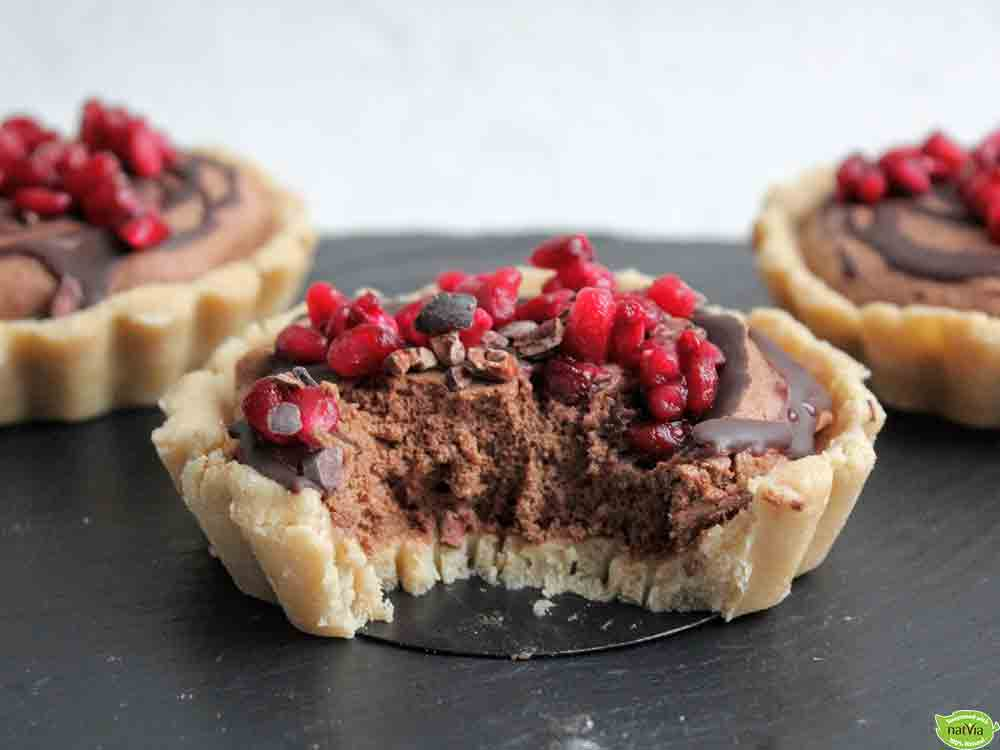CHOCOLATE MOUSSE TARTLETS