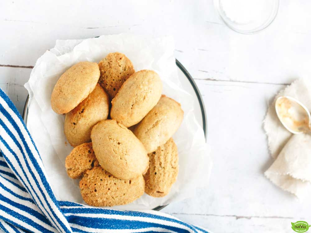 Brown Butter and Sea Salt Madeleines