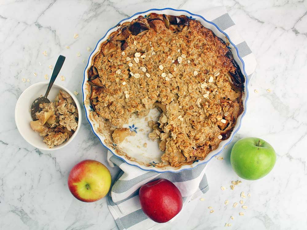 Baked-Apple-Oatmeal