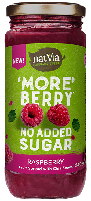 Natvia Raspberry Spread