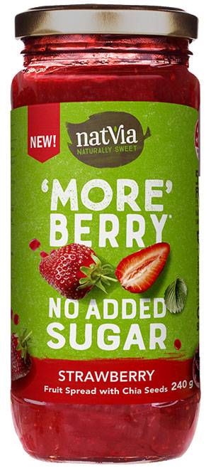 Natvia Strawberry Spread