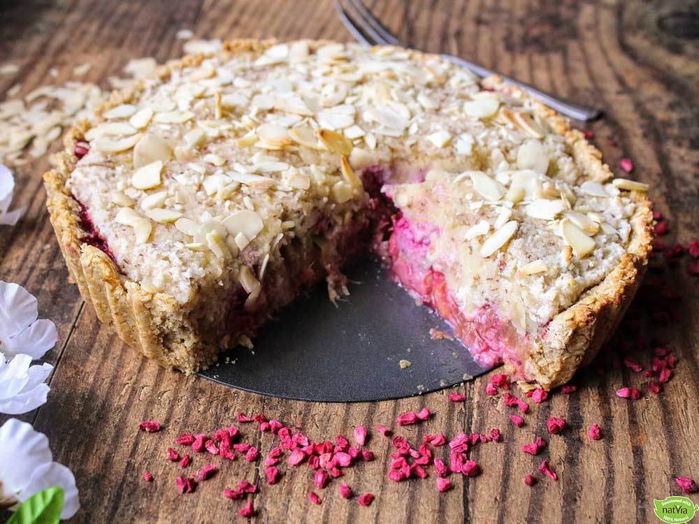 Rhubarb-and-Raspberry-Frangipane-Tart