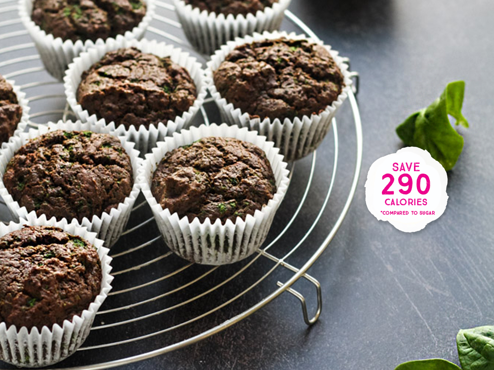 Chocolate Spinach Cupcakes