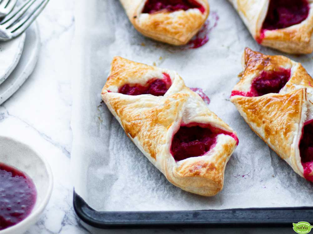 Rhubarb-Raspberry-Danishes