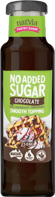 Natvia Smooth Choc Topping